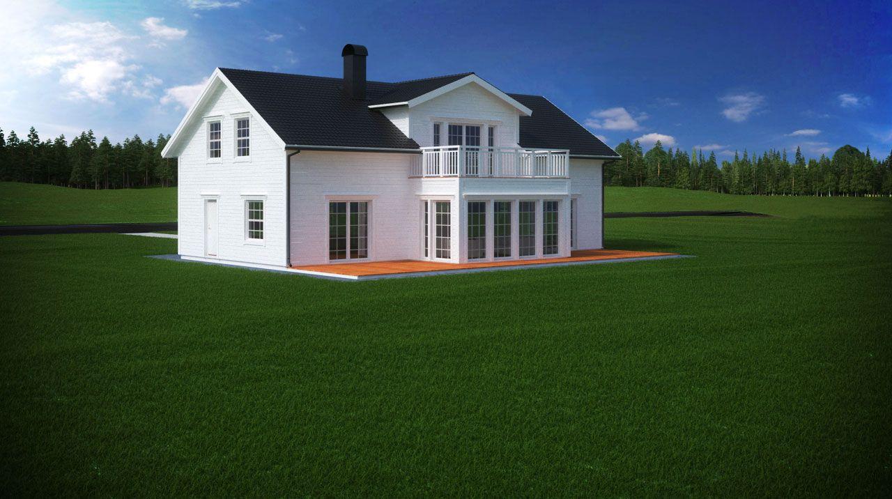Burspråk med balkong | Bygga hus | Pinterest | Balkong och Hus