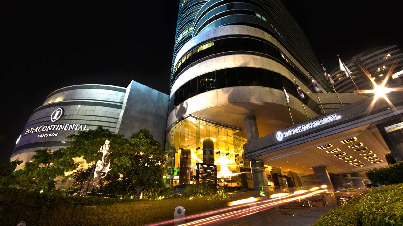 Looking For A Luxury City Hotel Bangkok Intercontinental Is A 5