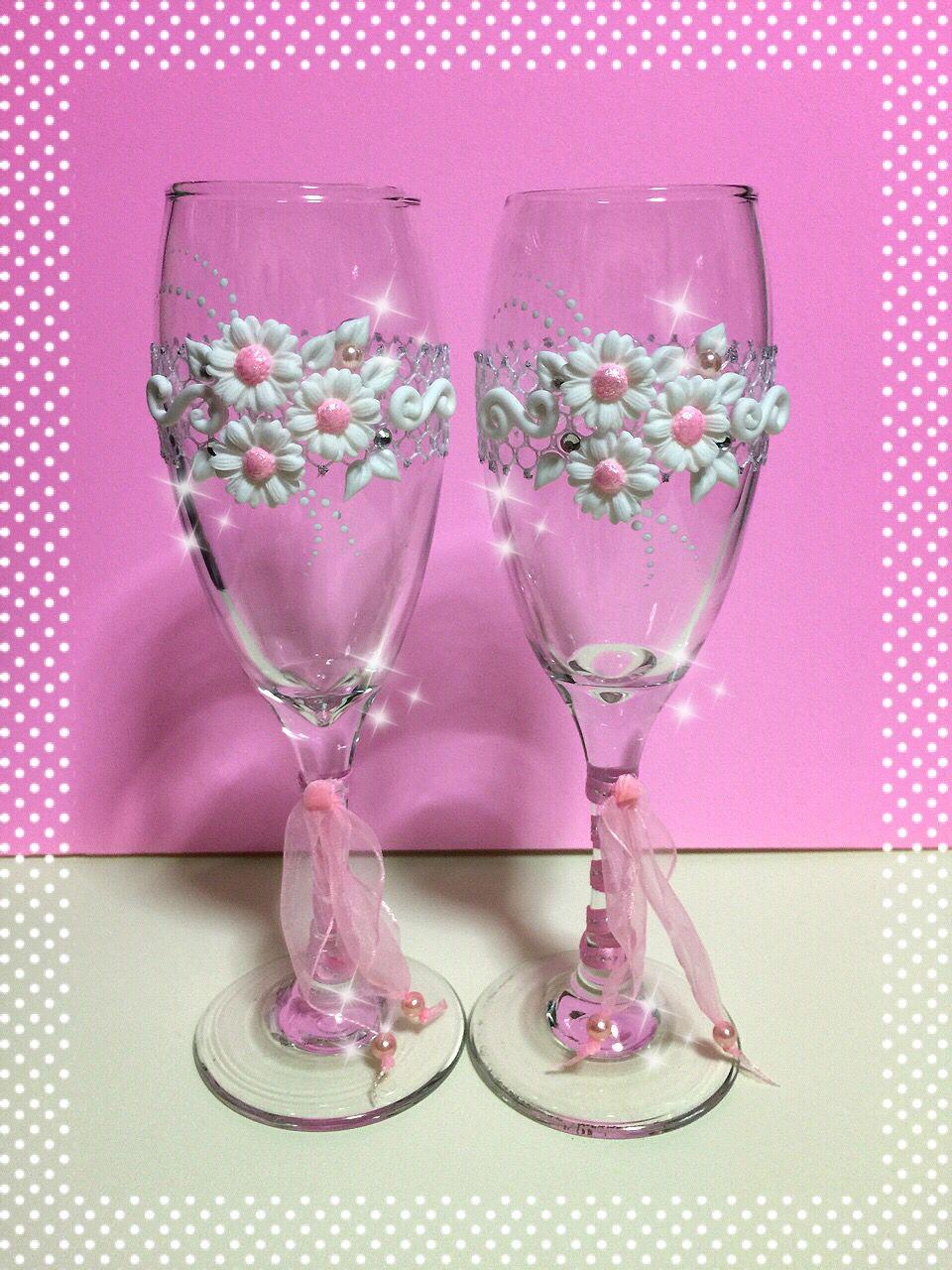 Taça para noivos brindar