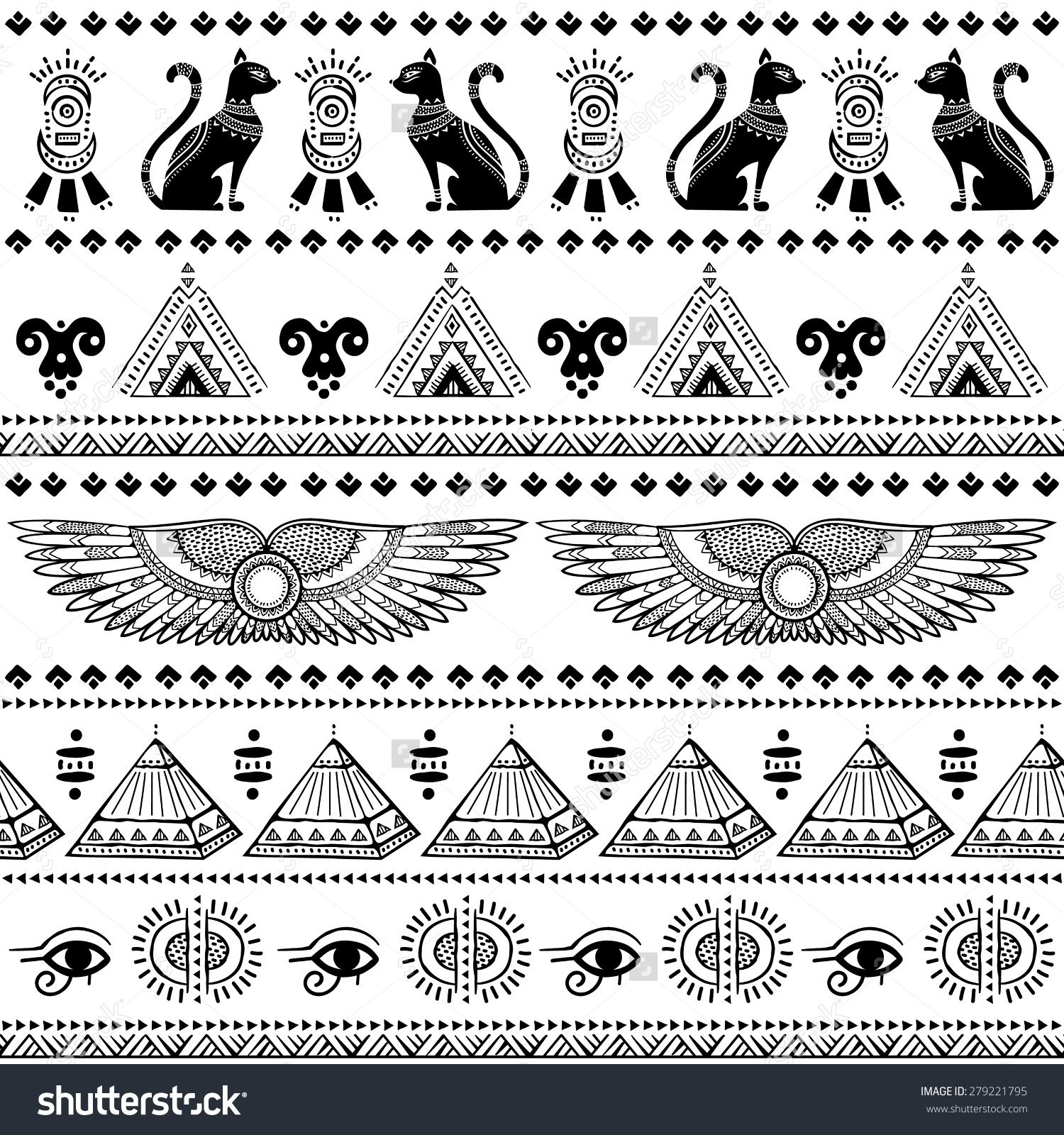 Image Result For Egyptian Patterns Pattern Tattoo Egypt Tattoo Egyptian Tattoo