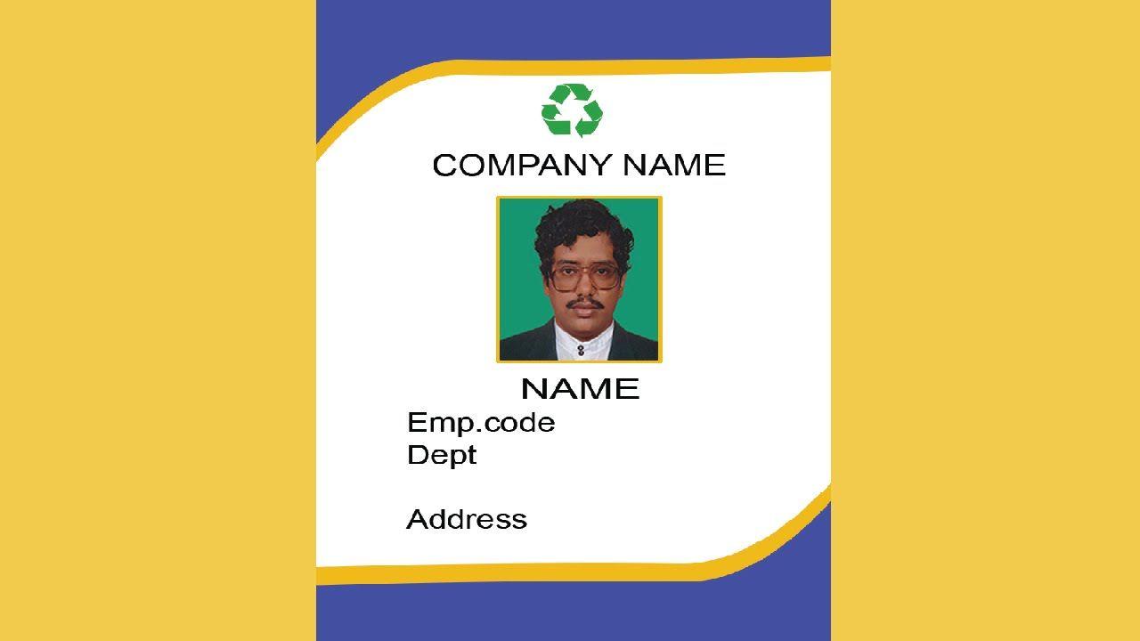 011 Teacher Id Card Photoshop Template Ideas Unbelievable Intended