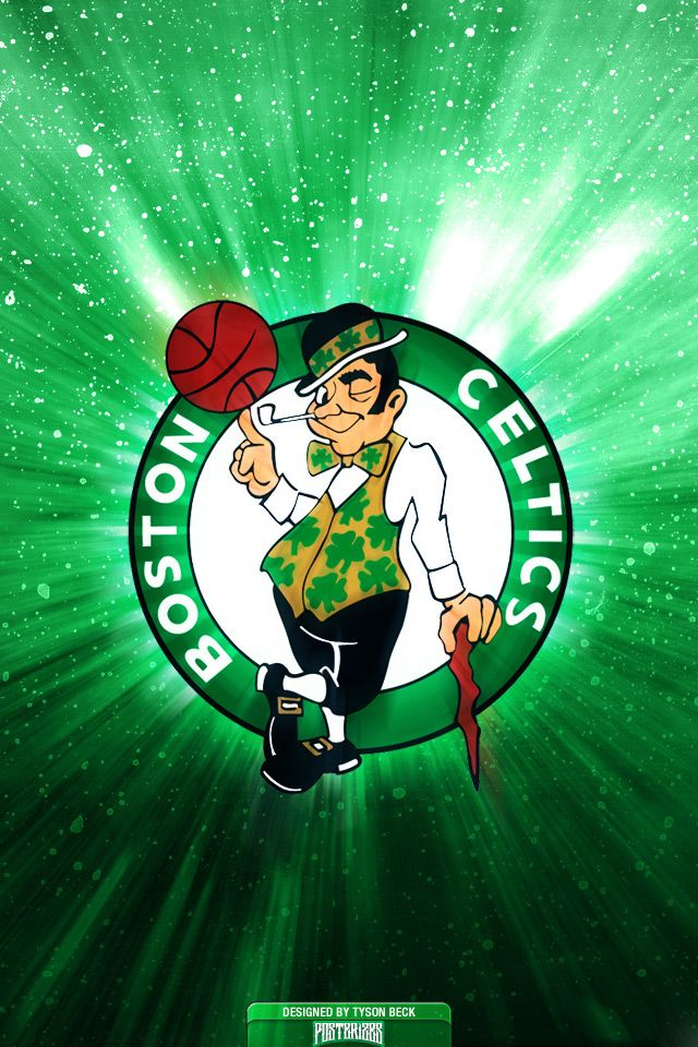 Boston Celtics Logo Nba Team Green Wallpapers Hd For Iphone 4 And 4s Boston Celtics Wallpaper Boston Celtics Logo Nba Wallpapers