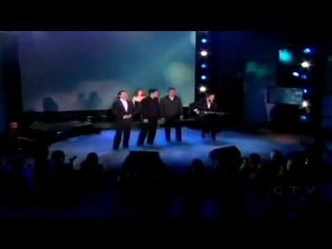 Celine Dion and The Canadian Tenors ~ Hallelujah