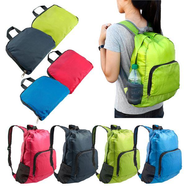 Folding Outdoor Hiking Camping Backpack Travel Waterproof Bag Pack Nylon Daypack