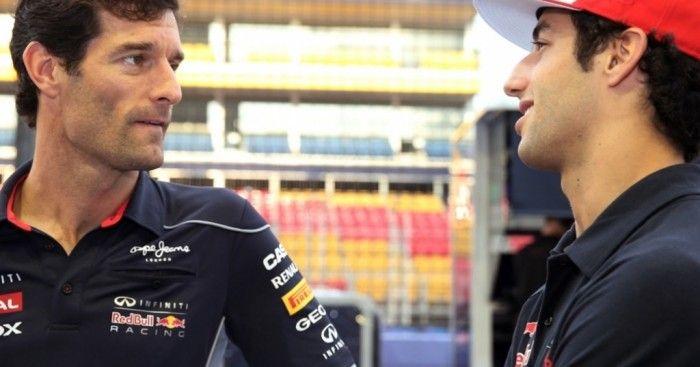 Webber heaps praise on Ricciardo