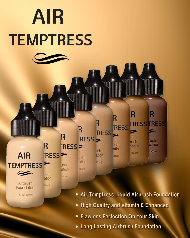 Air Temptress Airbrush Foundation Review Airbrush