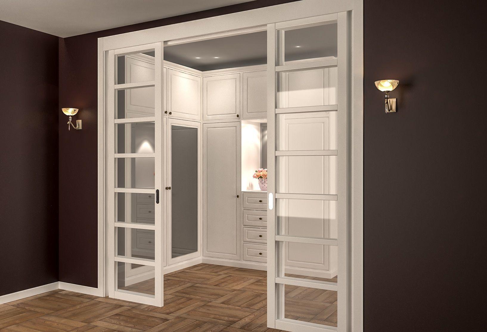 раздвижные двери межкомнатные перегородки классика 0021b на