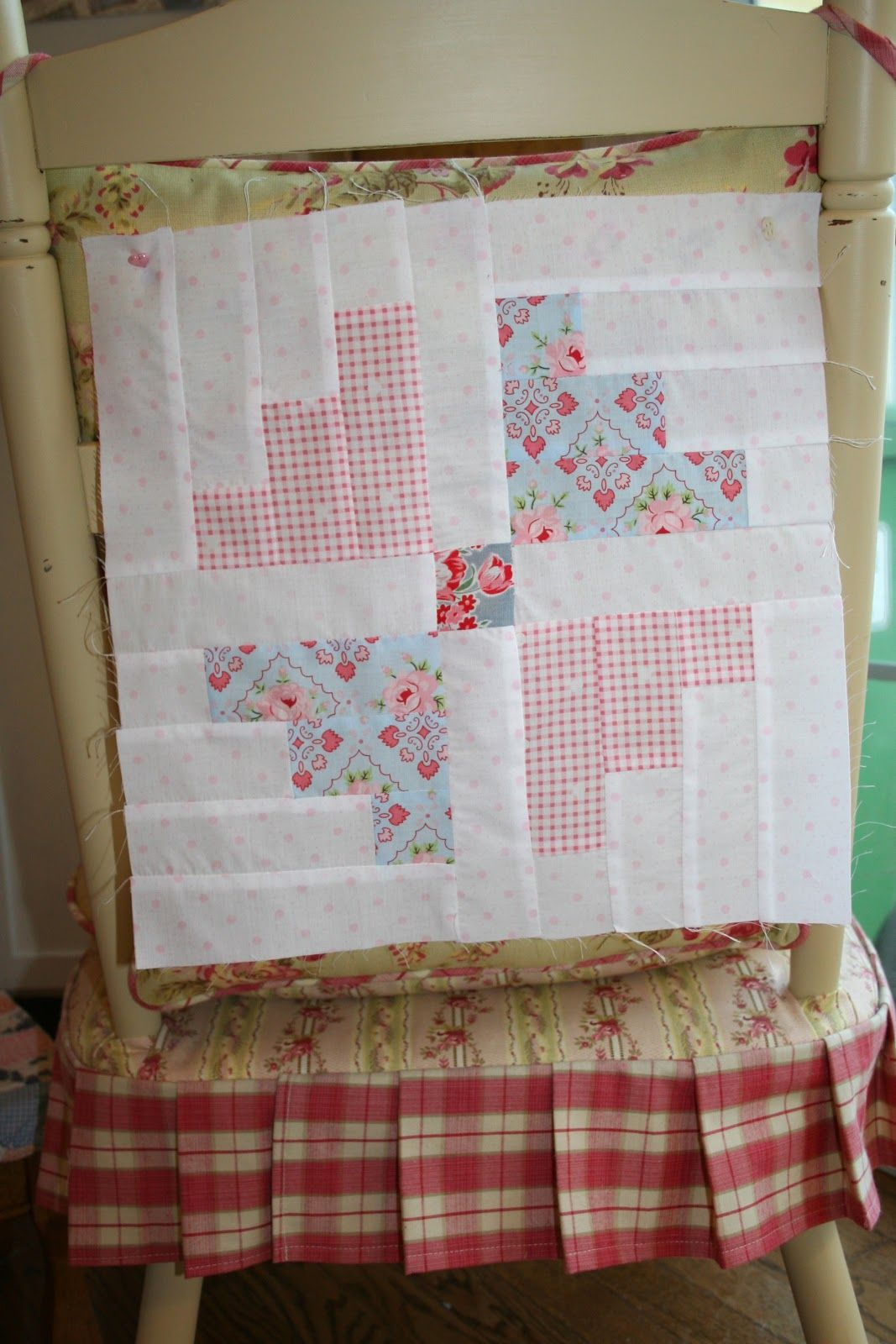 Sewn With Grace 14 Block From The Carousel Quilt By Its Sew Emma
