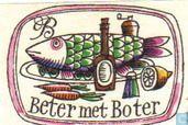 Beter met boter  - Matchbox label - Catawiki