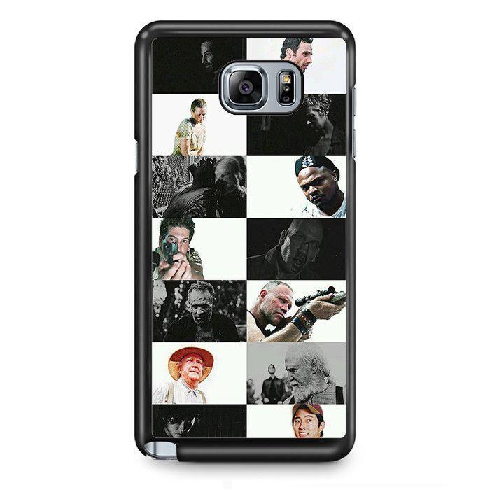 The Walking Dead Actors TATUM-11049 Samsung Phonecase Cover Samsung Galaxy Note 2 Note 3 Note 4 Note 5 Note Edge