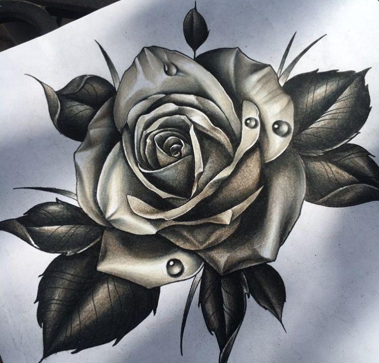 Rose Tattoos, Flower