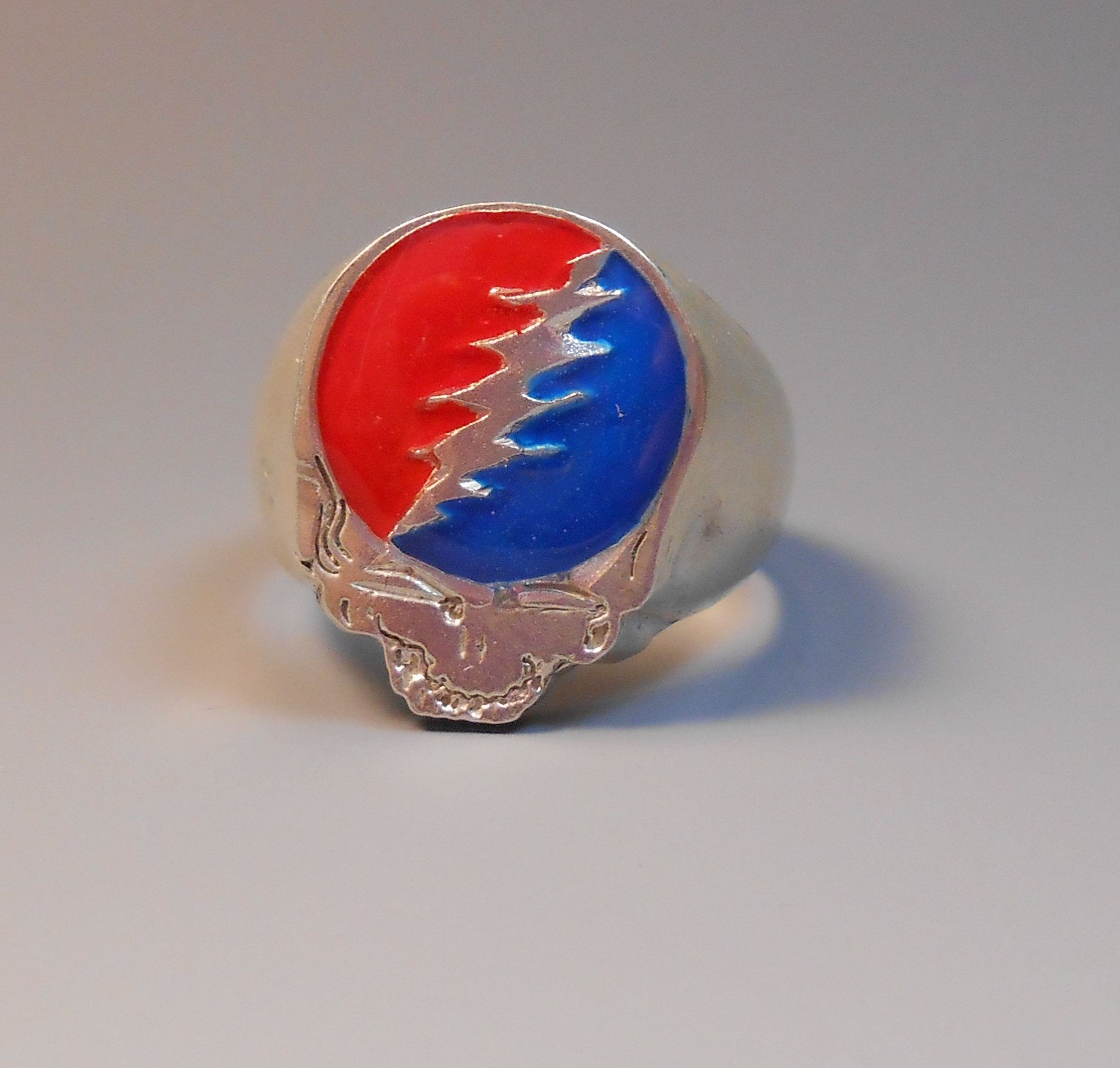 Steal Your Face Grateful Dead Deadhead Sterling Silver