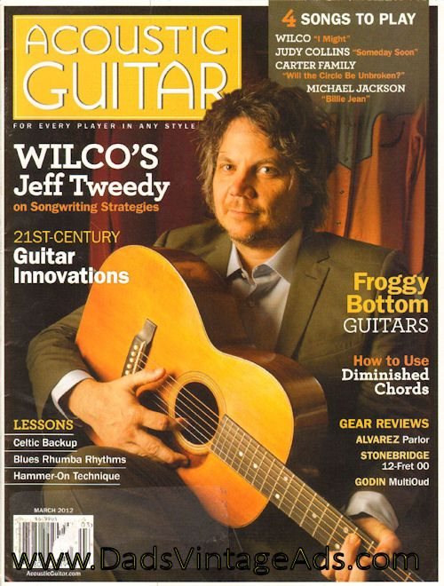 2012 March Acoustic Guitar Magazine Back Issue Acoustic Guitar Magazine Guitar Magazine Guitar