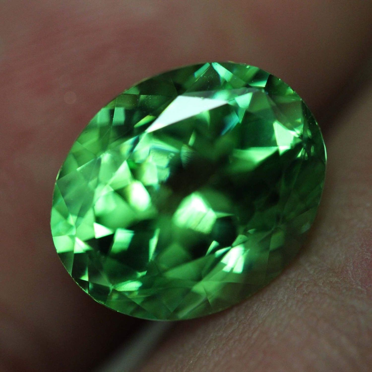 Certified Rare loose Natural untreated Green Oval cut Tsavorite Garnet 6.005ct by crystalanchor on Etsy