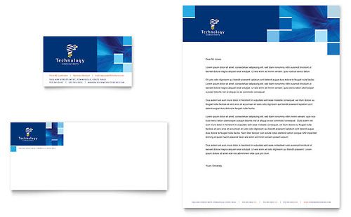 letterheads business consulting templates