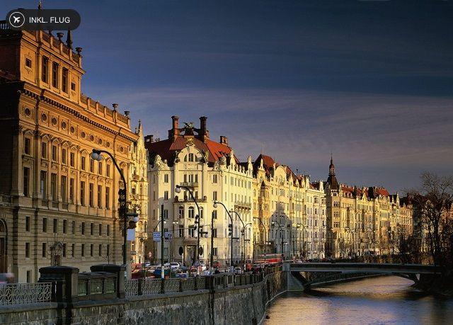 Citytrip ins winterliche Prag