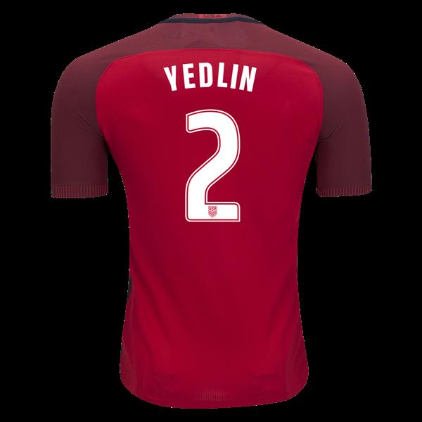 best service 856de fbdca Nike DeAndre Yedlin USA Authentic Third Jersey 2017 | soccer ...
