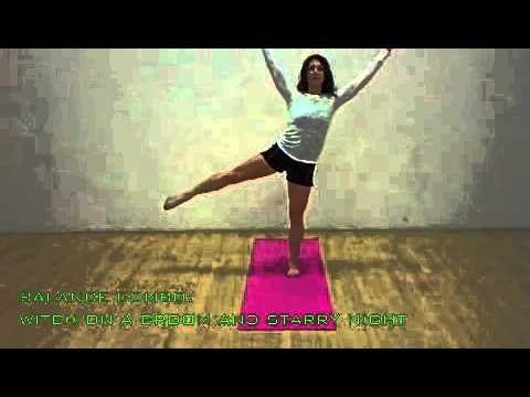 kinda goofy but cute ideas for halloweenthemed yoga