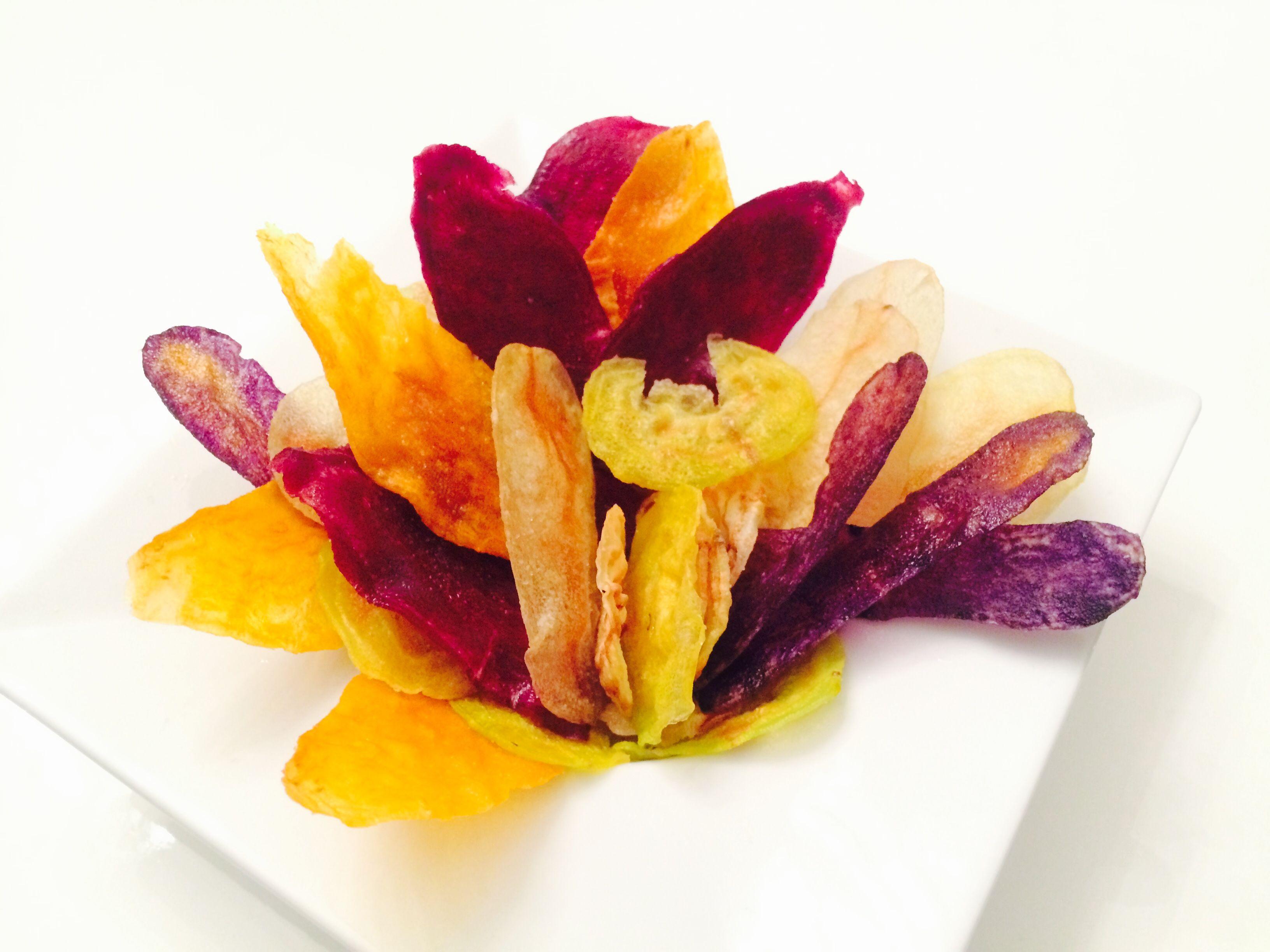 Chips de légumes croustillantes … au micro onde ! | Papilles & Pépites