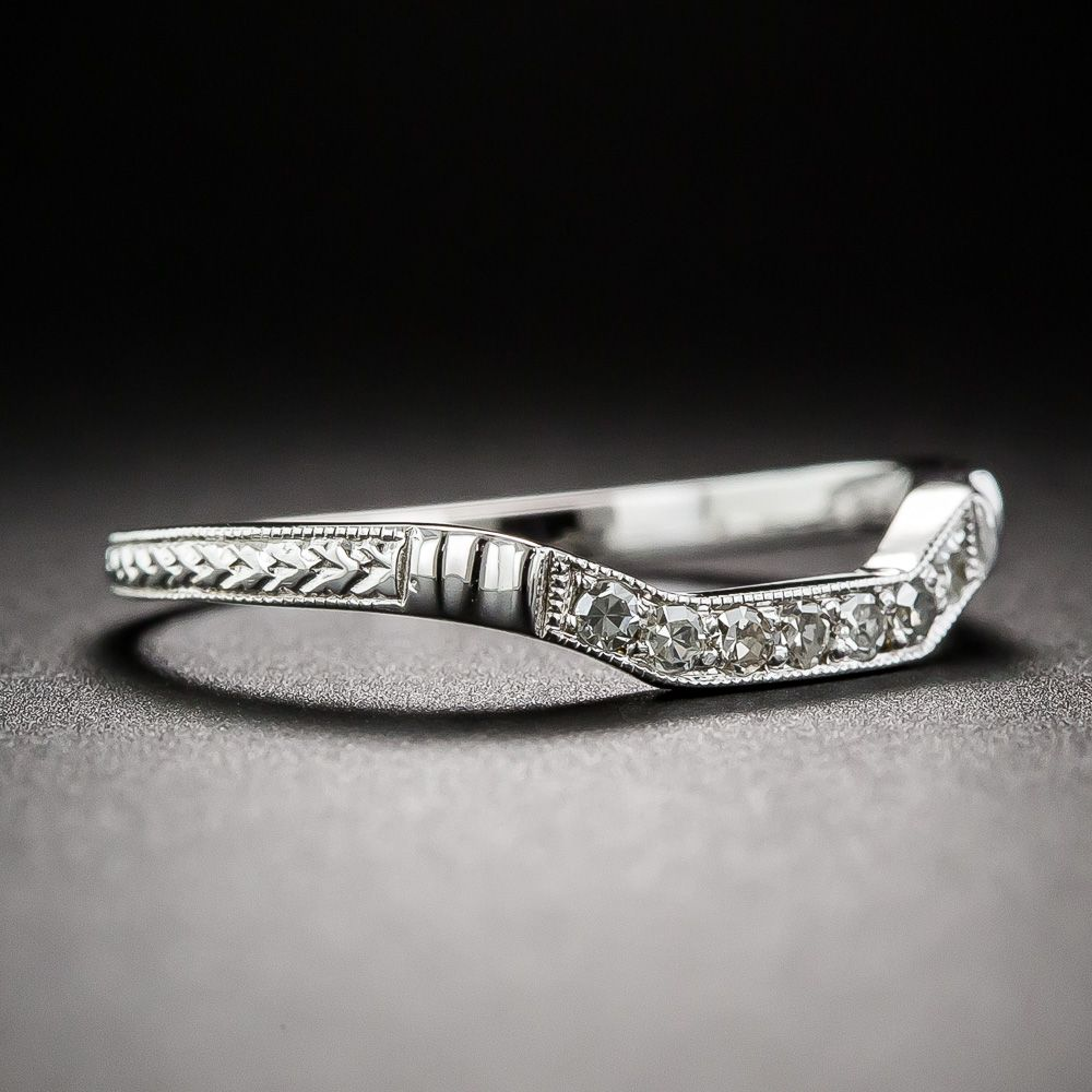 bands contour band p wedding diamond set co shane m pave