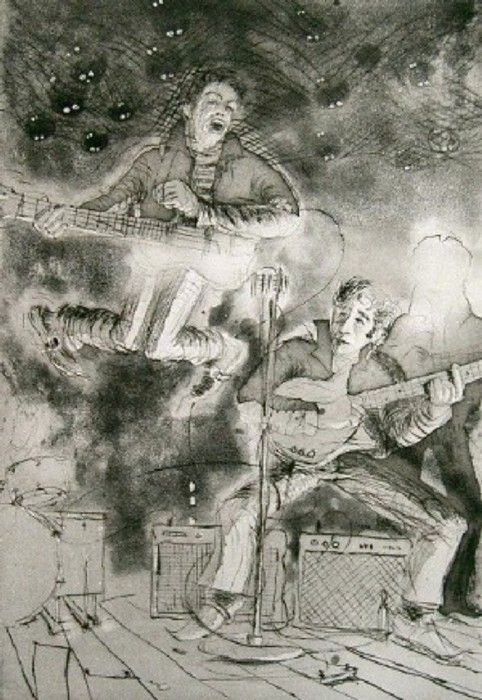 Klaus Voorman artwork | Beatles artwork, Beatles art, The beatles