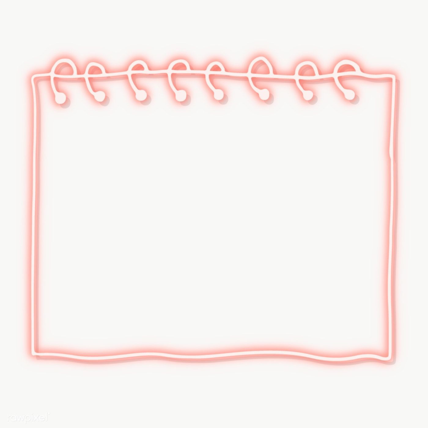 Download Premium Png Of Pink Neon Paper Note Transparent Png 2100707 The Best Design Resource Pink Neon P Note Paper Doodle Frame Paper Background Texture