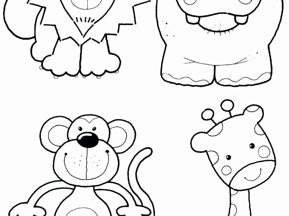 Printable Zoo Animal Coloring Pages In 2020 Zoo Animal Coloring Pages Zoo Coloring Pages Baby Zoo Animals