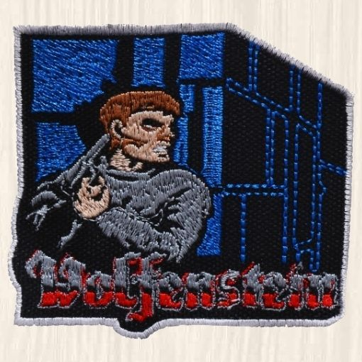 Wolfenstein 3D Embroidered Patch PC Videogame The New