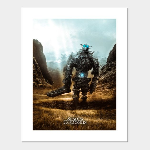 Shadow of the Colossus Posters and Art Prints | Displate thumbnail