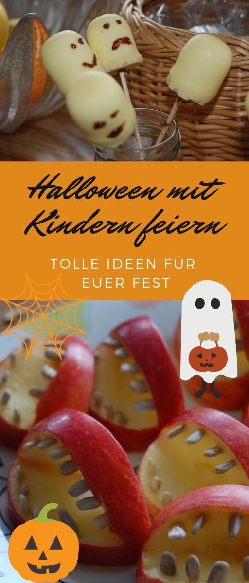 Halloween feiern mit Kindern! Wir haben eine Halloween-Party für kleine Kinder veranstaltet und damit du genügend Tipps für euer Fest hast, habe ich mal aufgeschrieben, was bei uns gut lief #halloween #kinderparty #gruselparty #childrenpartyfoods
