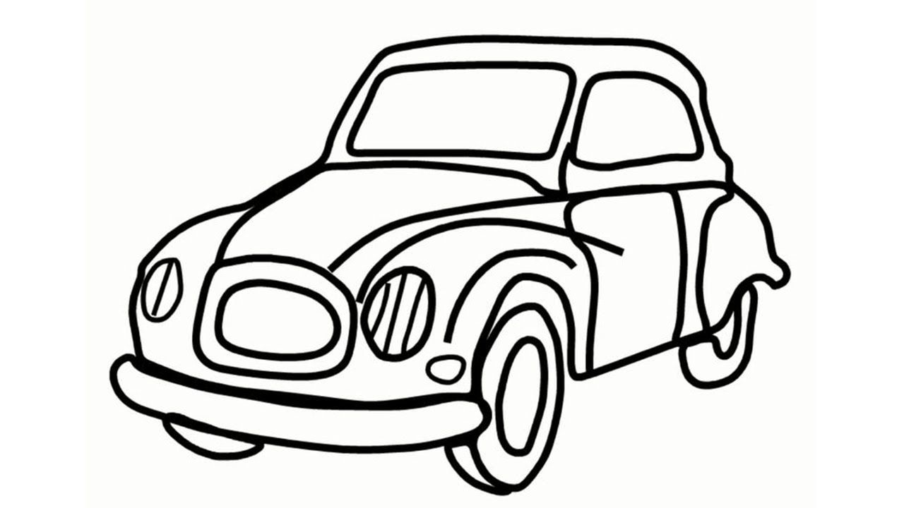 Really Easy Car Drawing 35 Cool But Easy Drawing Tutorials For The
