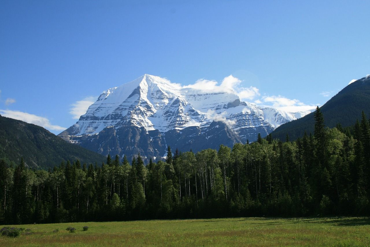 The majestic Rocky Mountains are a major tourist location in the western United States. #info4travel