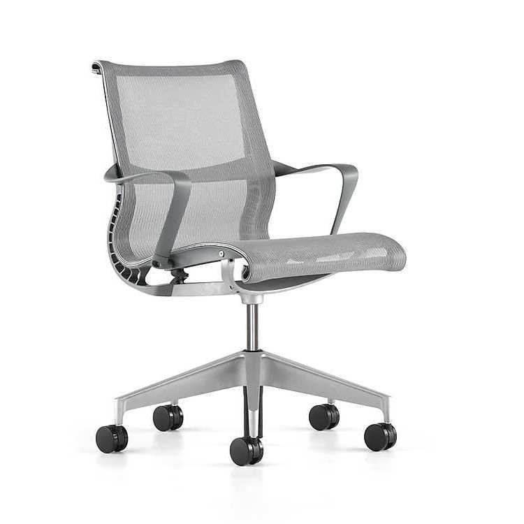 Herman Miller Setu Chair In Alpine Color Setu Chair Chair Comfortable Chair