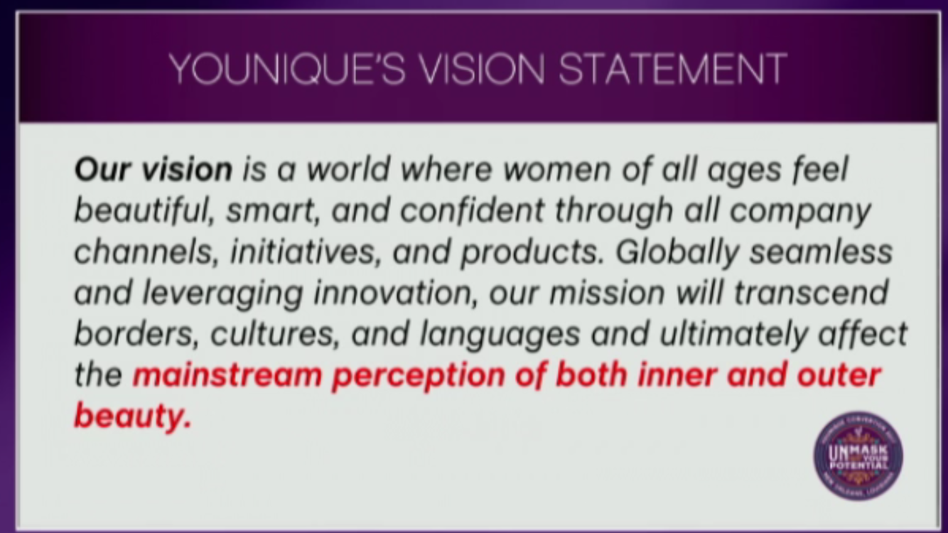 The Younique Vision Statement How To Feel Beautiful Younique Vision Statement