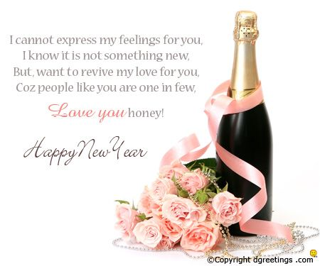 Happy new year greetings blessings pinterest blessings new year romantic card m4hsunfo