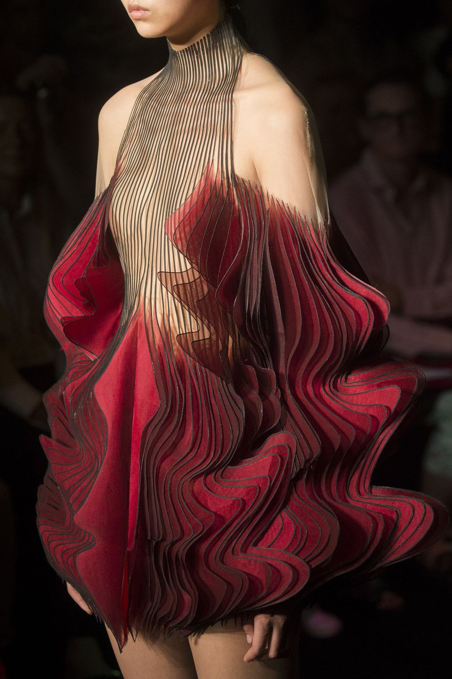 Photo of Iris Van Herpen at Couture Fall 2018