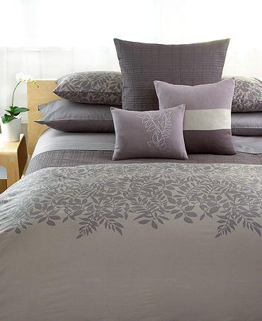 Calvin Klein Madeira Jagged Grid Queen Coverlet King Duvet Cover Sets Duvet Cover Sets Comforter Sets