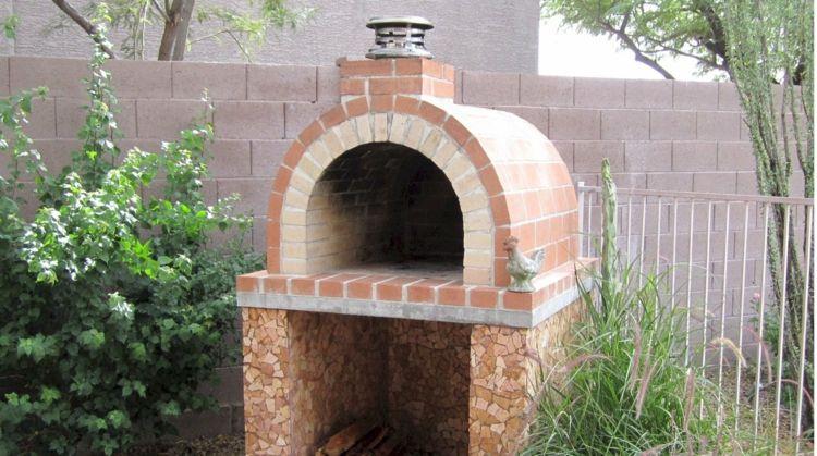 bauen sie einen grill mit runder form und mosaikmuster four bois pinterest ofen grillen. Black Bedroom Furniture Sets. Home Design Ideas