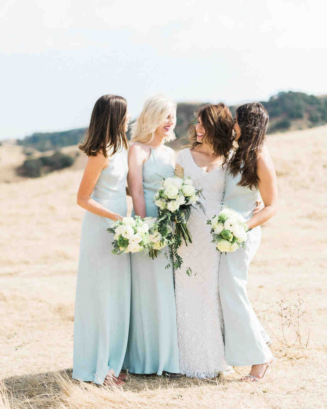 Pretty Wedding Hairstyles for Your Bridesmaids | Martha Stewart ...