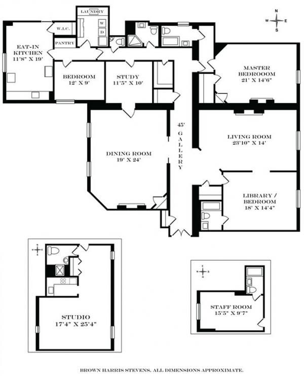 The Dakota 1 West 72nd Street The Dakota At 1 West 72nd Street At Central Park Apartment Floor Plans Floor Plans Nyc Apartment
