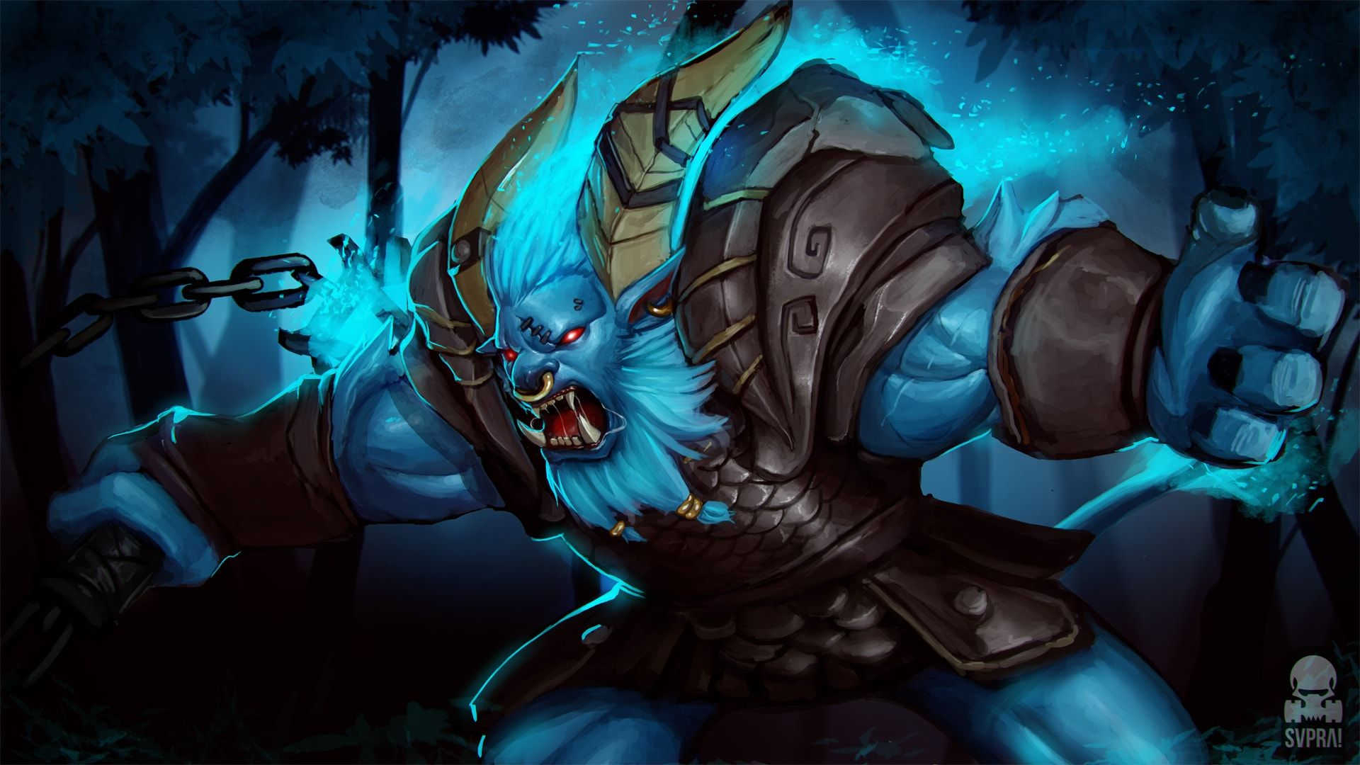 dota2 spirit breaker hd desktop wallpapers 7wallpapers net