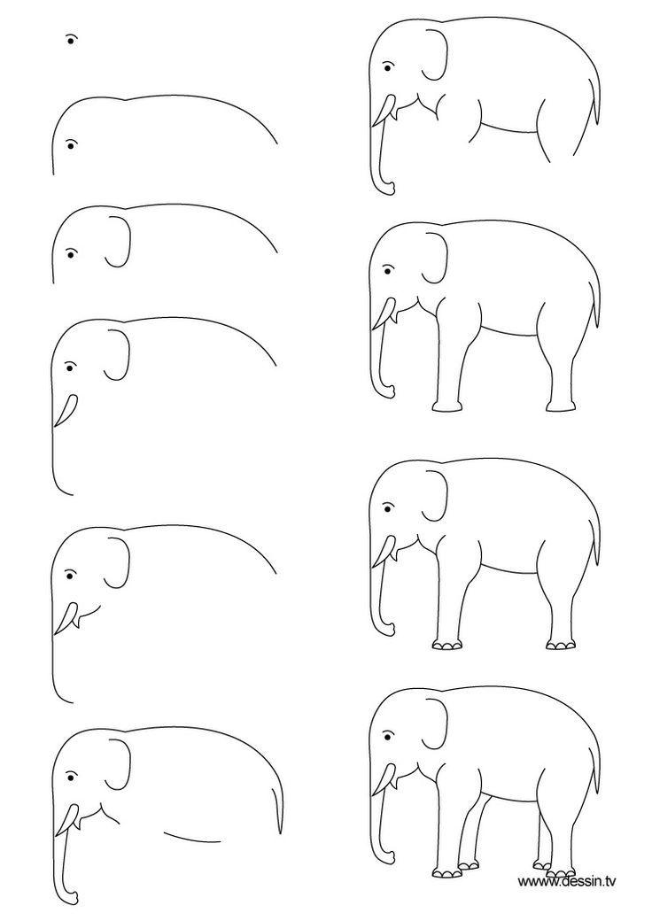 Bett strichzeichnung  32 ausmalbilder kostenlos – Zeichnung Elefanten – vol 1821 ...