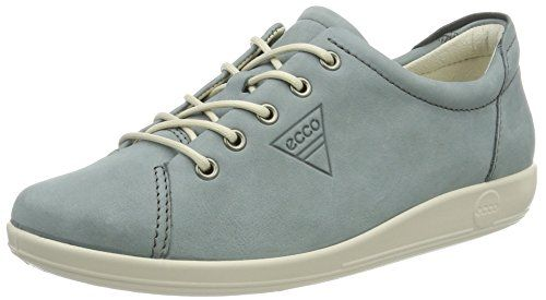 Shoes online · From 75.00 Ecco Ecco Soft 2.0 Women's Derby Lace-up Blue  (2287trooper) 6