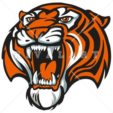 tiger paw clip art tigers mascot in color our products mascot rh pinterest com au  clemson tiger mascot clipart