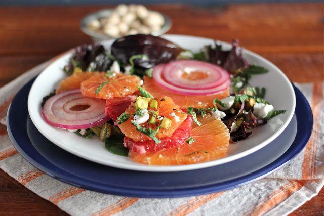 Sicilian Citrus Salad by Arctic Garden Studio