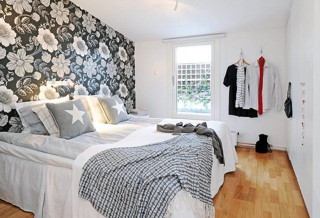 Papel tapiz para dormitorios alcoba principal pinterest - Pintar dormitorio principal ...