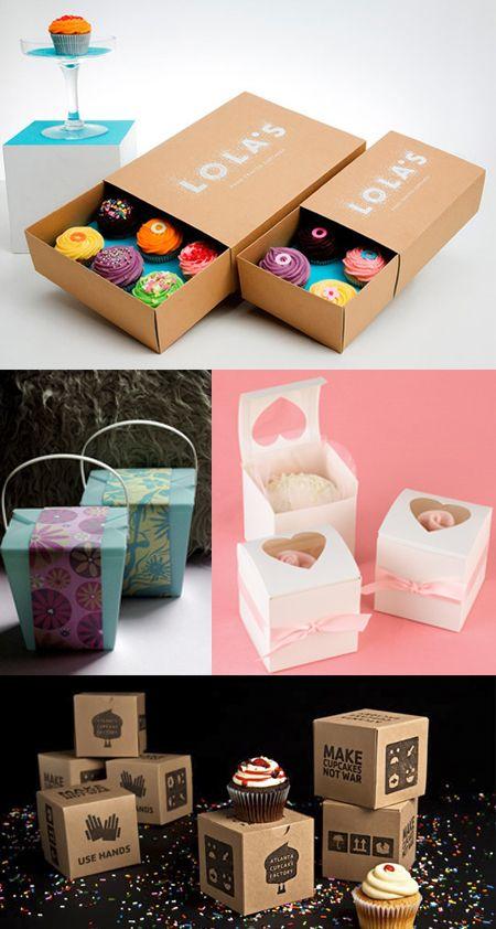 Presenta Tus Cupcakes En Un Envase Comeme Con Imagenes Cajas