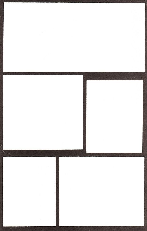 Printable comic book blanks Geeky Gamer Guy Pinterest Comic