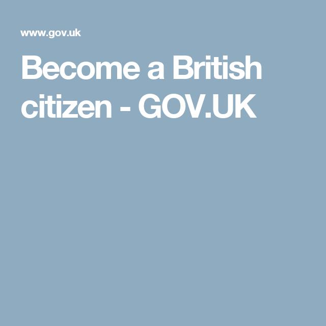Pin On British Citizen Advise