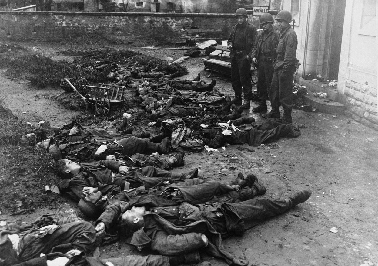 Image result for dead soldiers world war 2